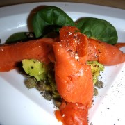Scottish Smoked Salmon and fresh Avocado Salad