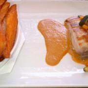 Mahi Mahi served with Sweet Potato