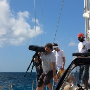 Photo equipment onboard luxury yacht