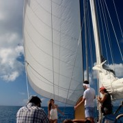 Photo and video shoot onboard Pacific Wave