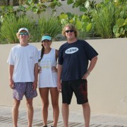 Family charter the kids Scrub Island Marina BVI