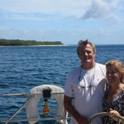 Couple charter in the Grenadines onboard Pacific Wave