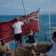 Family charter in the BVI at Christmas