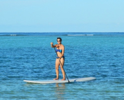 Standup Paddle Boarding in the BVI
