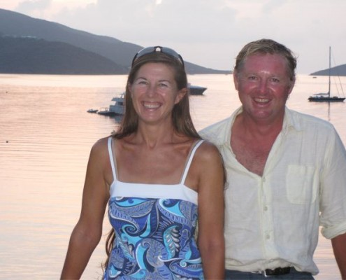 Lynn Griffiths and Mark Miles BVI