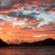 Sunset BVI