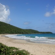 Beach on Canouan the Grenadines