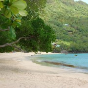 Lower Bay Beach on Bequia the Grenadines