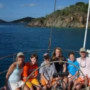 Eliot, Katrinka, Anneke, Eliot Jr, John, Abigail - Boston USA
