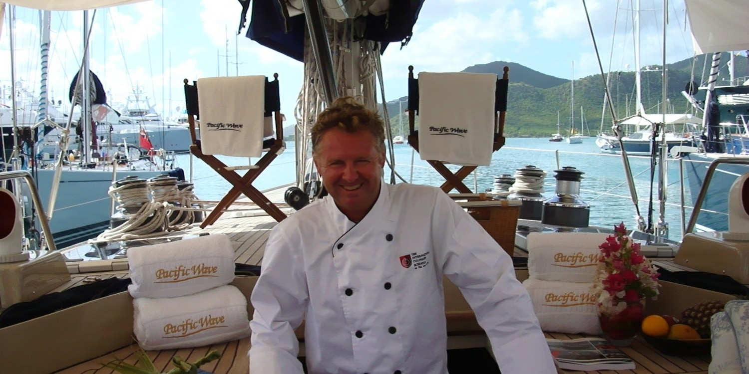 Pacific Wave Antigua Charter Yacht Show Concours du Chef Mark Miles