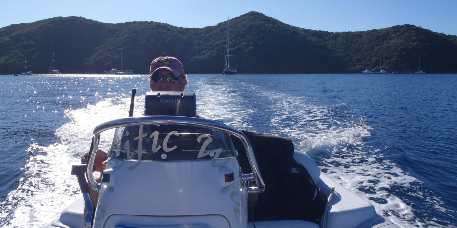 SY Pacific Wave Watersports Caribe DL15