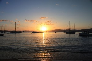 BVI Sunset from Cooper Island