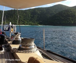 Pacific Wave anchored off Guana Island BVI Crewed Yacht Charter.jpg