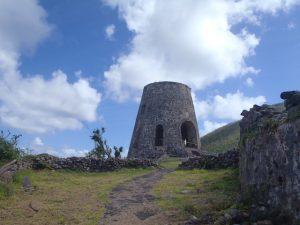 Annaberg Sugar Mill standing tall after Irma