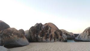 Climb amongst the giant granite boulders at the Baths Virgin Gorda