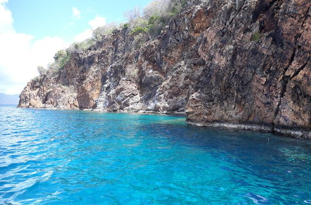 Snorkel The Caves Norman Island BVI from Pacific Wave
