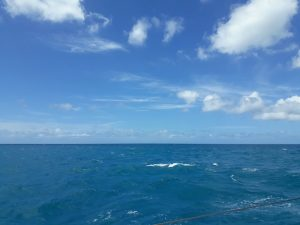 Sailing on a Caribbean Yacht Charter onboardd Pacific Wave
