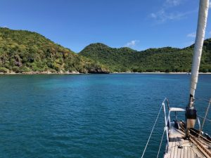 Swim from Pacific Wave in the Grenadines