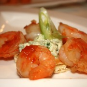 Shrimp with a Sweet Chilli Dressing
