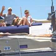 Family Charter onboard SY Pacific Wave sailing in the BVI