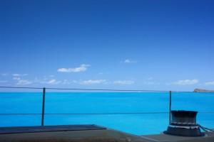 Azure blue waters of the British Virgin Islands