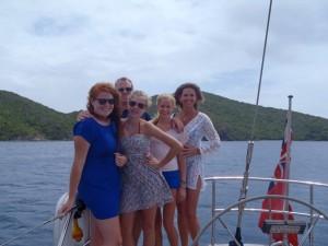 Family charter British Virgin Islands