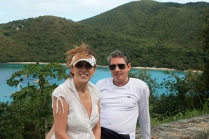 Couple charter St John USVI