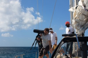 Photo equipment onboard luxury yacht