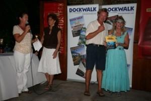 Chef Mark Miles receiving Concours de Chefs Award Antigua Yacht Show
