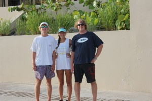 Family charter the kids Scrub Island Marina BVI