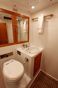 SY Pacific Wave Ensuite Port Side