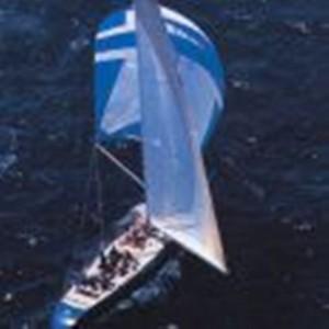 Azzurra Italian America's Cup Entry sailing