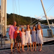 Family Charter Pacific Wave at Yacht Haven Grande Marina USVI