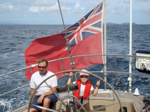 Family charter in the Grenadines onboard SY Pacific Wave