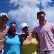 Family onboard Pacific Wave completing their PADI Open Water Certification