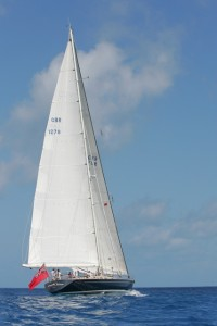 SY Pacific Wave sailing