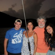 New Year Charter Guests onboard Pacific Wave British Virgin Islands