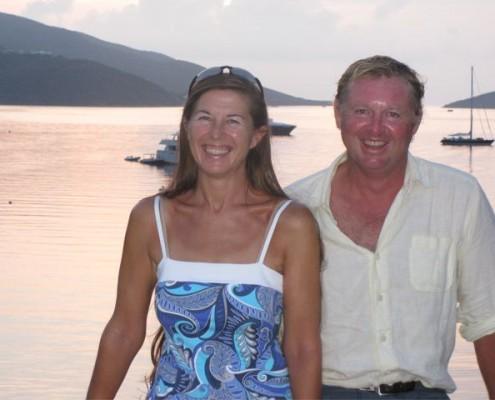 Lynn Griffiths and Mark Miles BVI