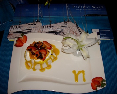 Pacific Wave wins First Prize Culinary Contest St Thomas Yacht Show