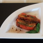Grilled Chilled Vegetable Terrine