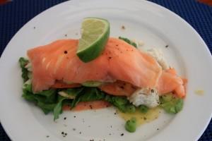 Scottish Smoked Salmon Salad