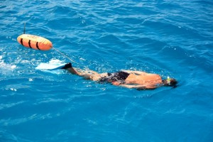 Snorkeling off Pacific Wave in the Caribbean