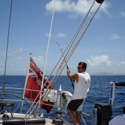 Fishing from SY Pacific Wave