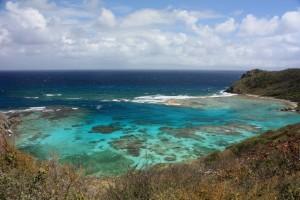 Hiking on Norman Island BVI