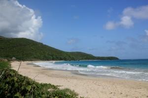 Beach on Canouan the Grenadines