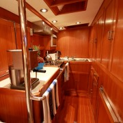 SY Pacific Wave Galley