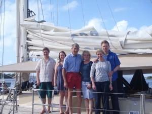 Alexander, Julia, Henry, Catherine, Rupert & Louisa - Scotland UK and William & Anne - Hertfordshire UK