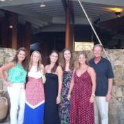 JD, Cindy, Britton, Keaton, Emily & Caroline – Florida USA