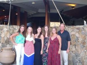 JD, Cindy, Britton, Keaton, Emily, Caroline - Florida USA