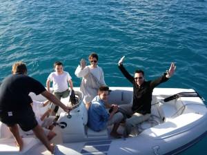 Jeff, Jackie, Spencer, Seb & Ryder–San Francisco USA:Frankfurt Germany